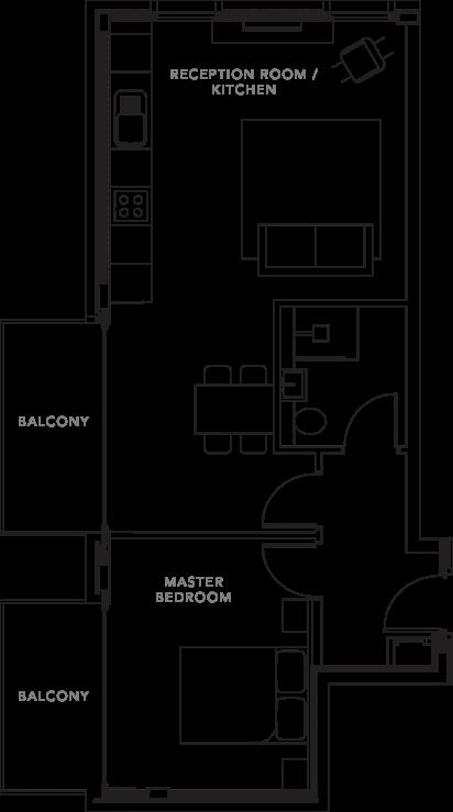 The Apartments floorplans_Apartment 10