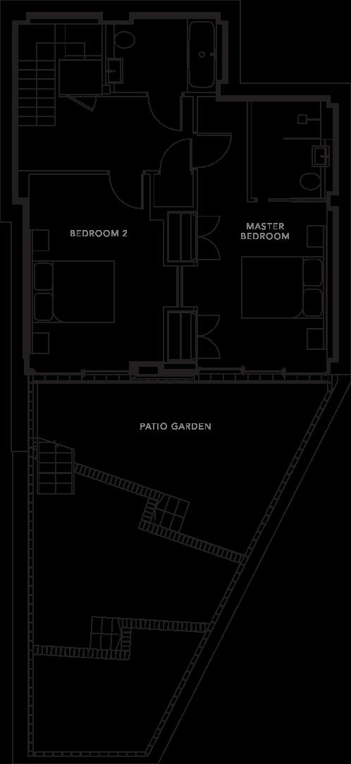 The Apartments floorplans_Apartment 1a