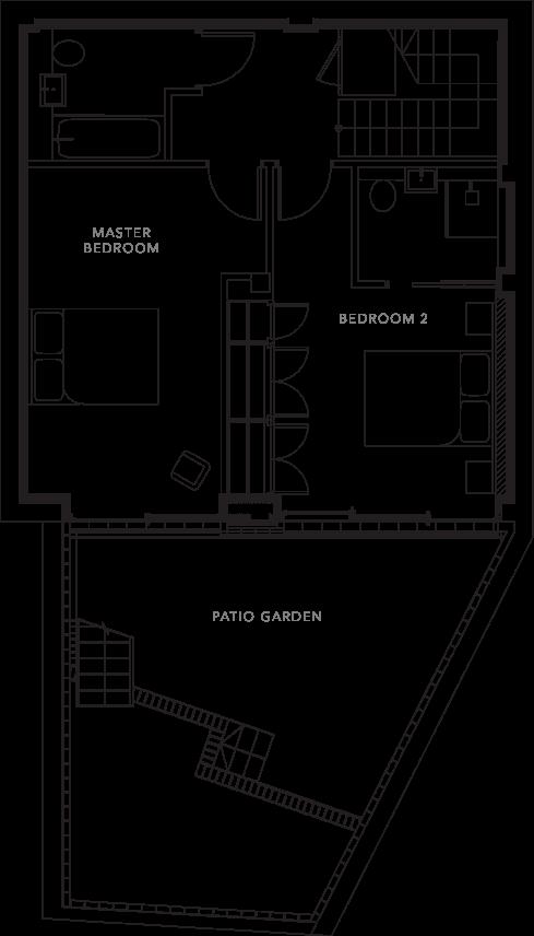 The Apartments floorplans_Apartment 2a
