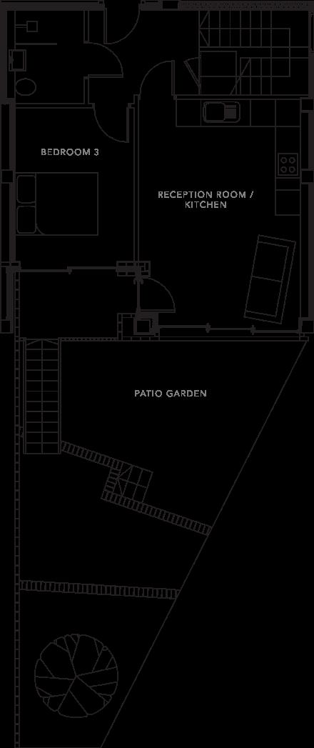 The Apartments floorplans_Apartment 2b