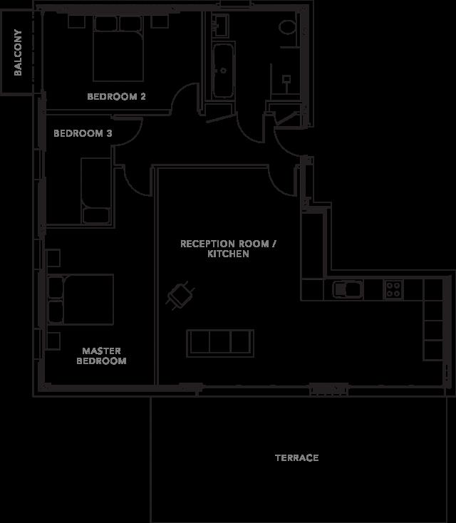 The Apartments floorplans_Apartment 4