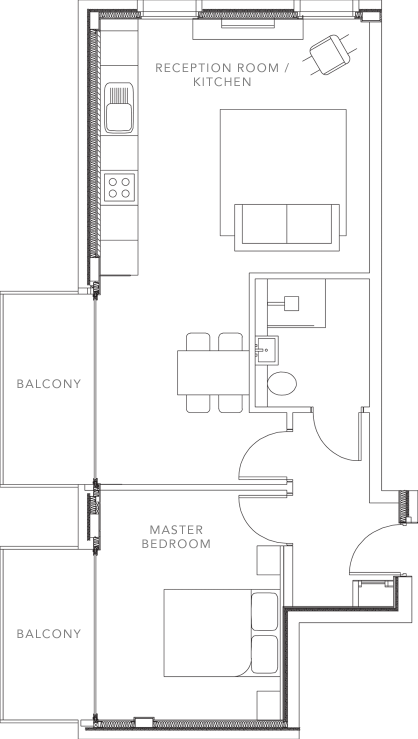 The Apartments floorplans_Apartment 7