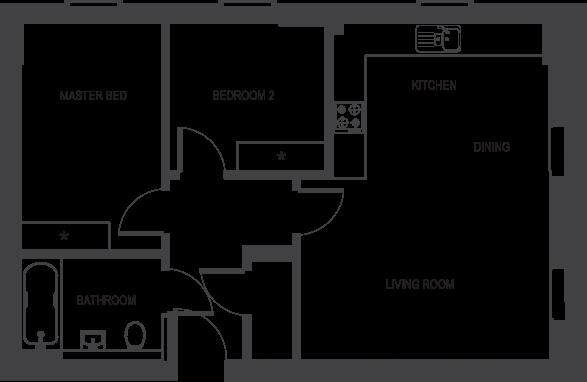 The Depot floorplans_apartment 1b