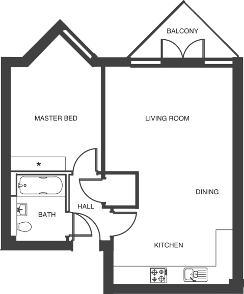 The Depot floorplans_apartments 2 and 9a