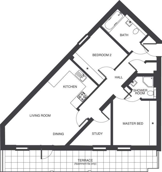 The Depot floorplans_apartments 6 and 13a